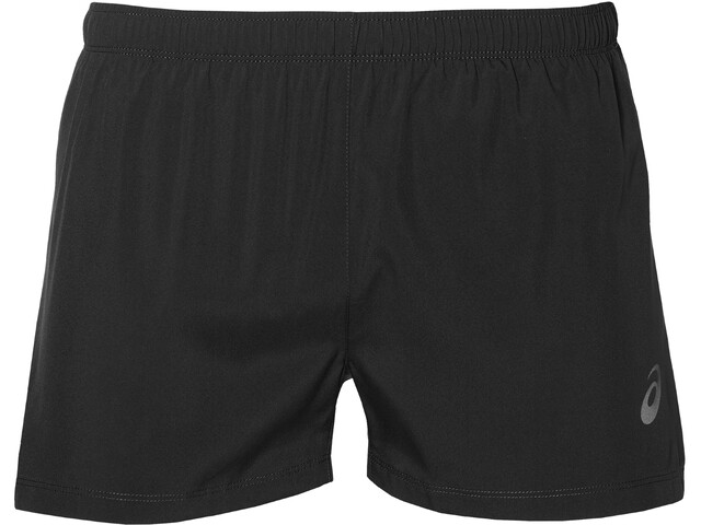 asics Silver Split Shorts Men, performance black